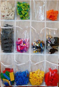 Hanging Lego Storage