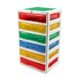 Lego Storage Drawers - IRIS Lego 6-Case Workstation