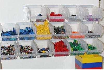 Plastic Storage Bins Are Ideal For Bulk Lego Storage For Lego Fans
